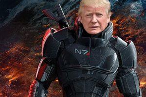 mass effect: andromeda трамп тренды сми масс-медиа злоба отвратительные мужики disgusting men