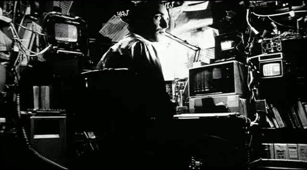 пи аронофски 1998 pi aronofsky кино рецензия киберпанк отвратительные мужики disgusting men