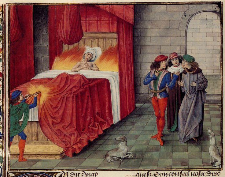 карл злой карл ii король наварры сгорел заживо история дичь отвратительные мужики disgusting men