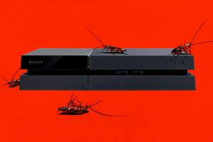 тараканы в playstation 4 xbox one починка консолей отвратительные мужики disgusting men