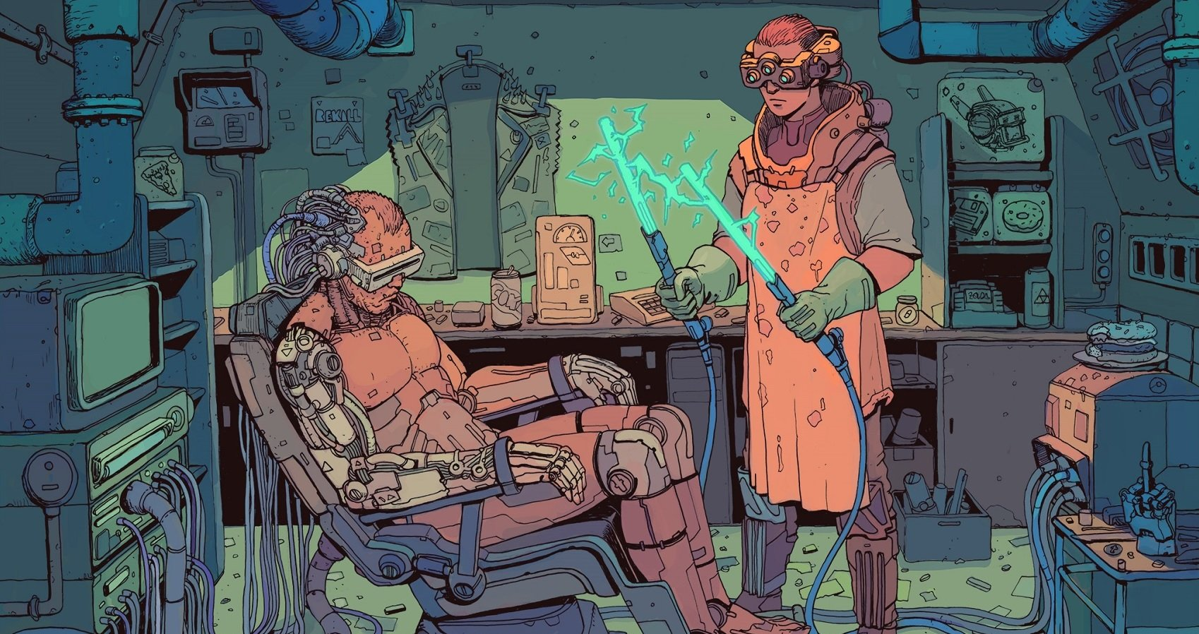 2017 7511 год по старому стилю 25 мая будущее киберпанк отвратительные мужики disgusting men