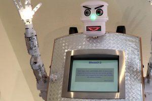 blessU-2 робот-священник робо-пастор германия отвратительные мужики disgusting men