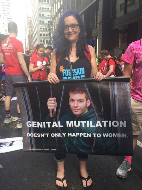 foreskin pride парады крайней плоти обрезание противники обрезания отвратительные мужики disgusting men