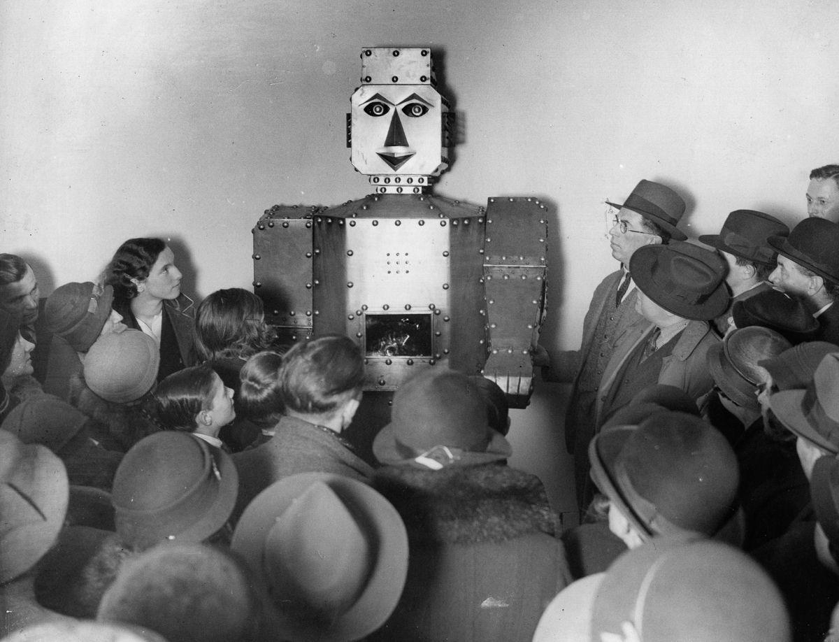 ретро роботы 20-х годов отвратительные мужики disgusting men