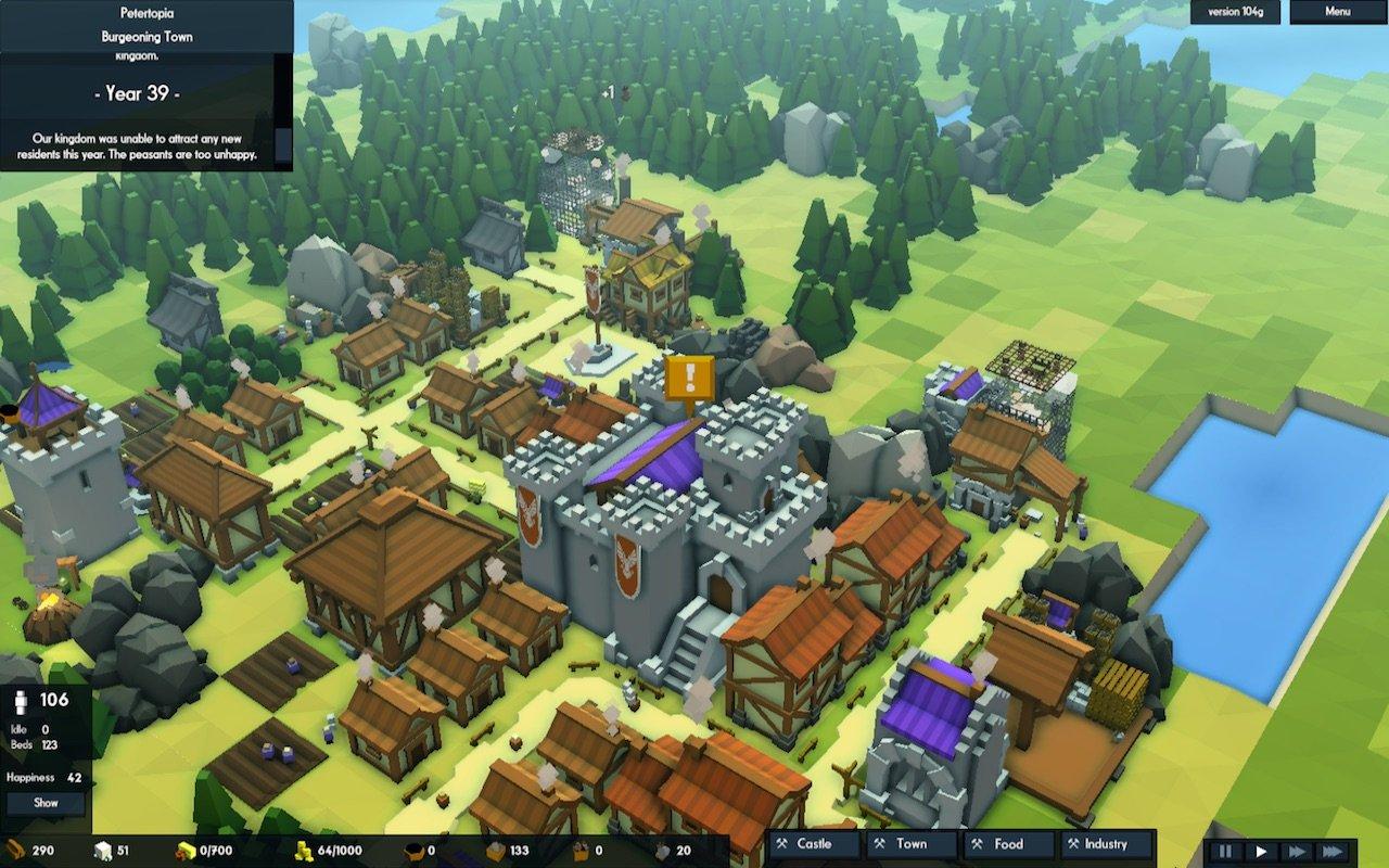 kingdoms and castles mac обзор review рецензия