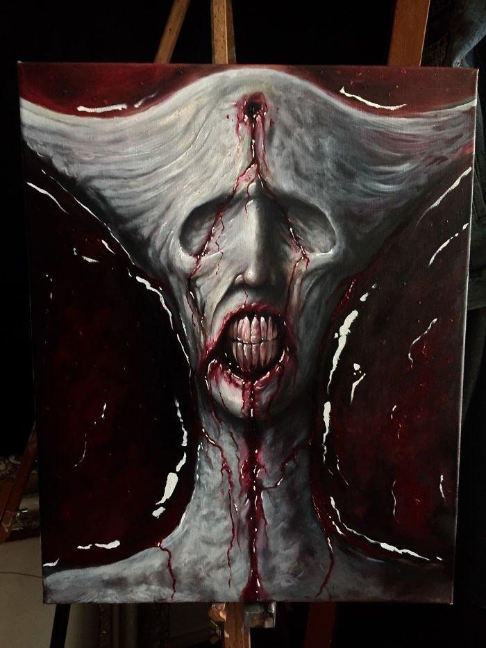 шизофрения и искусство отвратительные мужики disgusting men