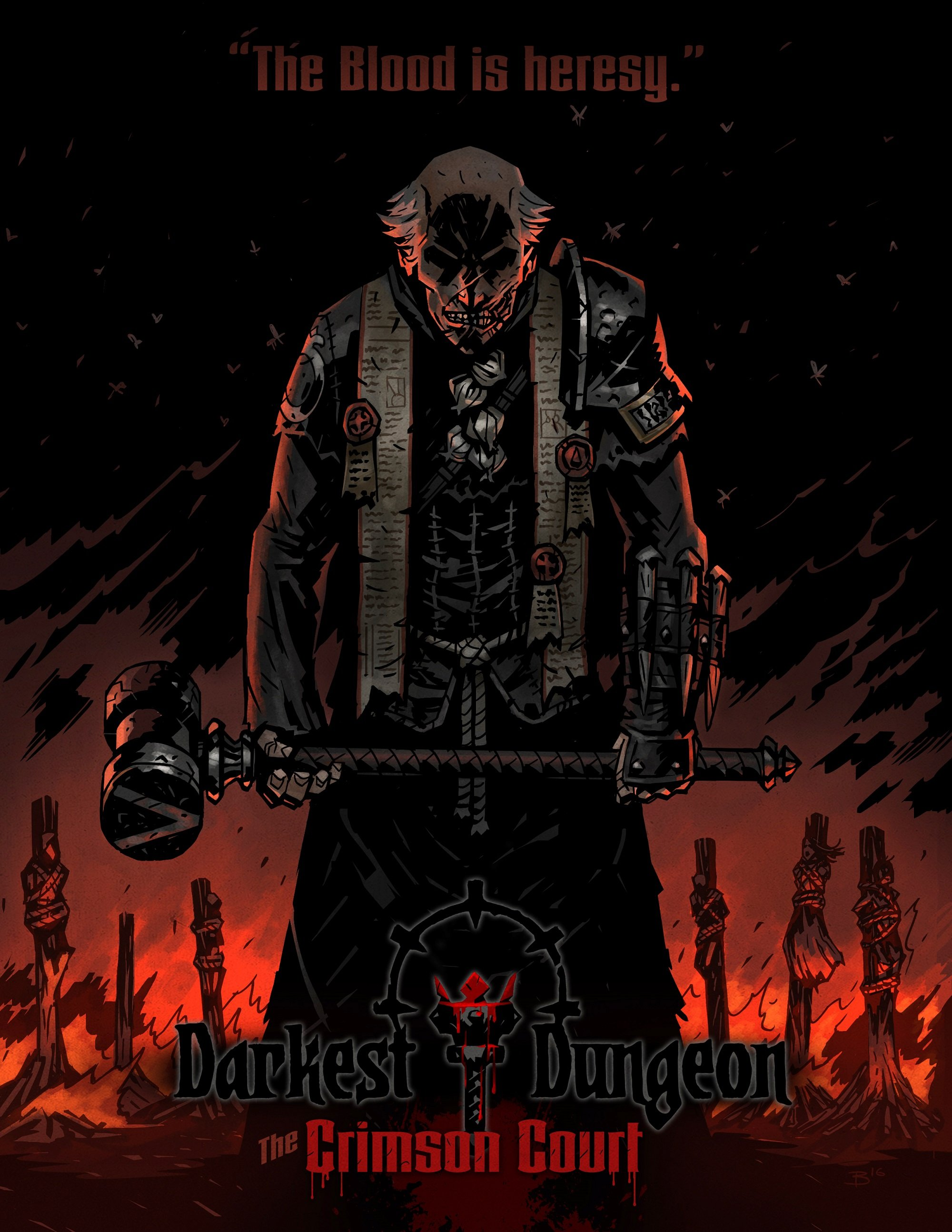 арты darkest dungeon Chris Bourassa крис бурасса отвратительные мужики disgusting men