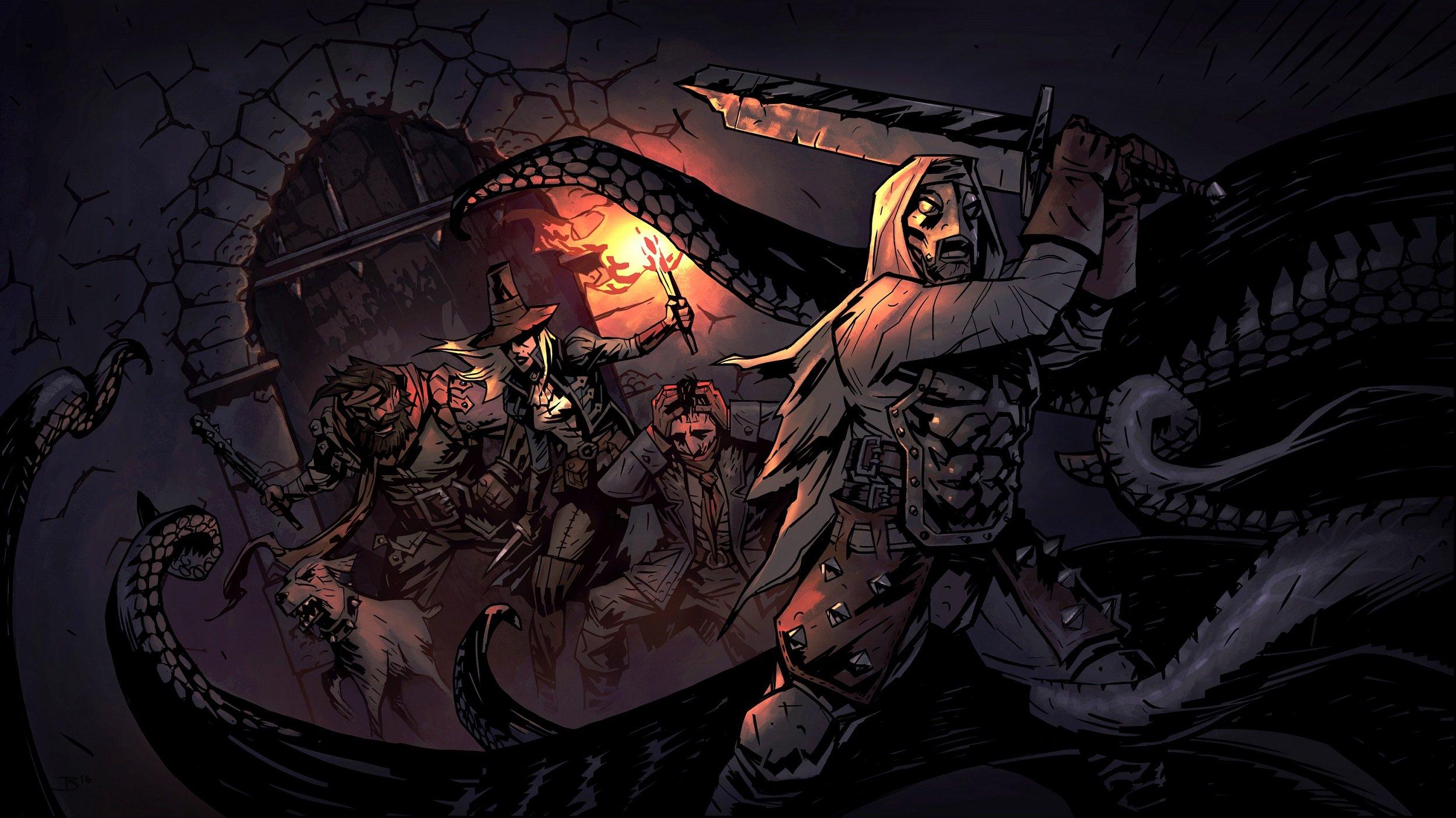 darkest dungeon Chris Bourassa крис бурасса отвратительные мужики disgusting men