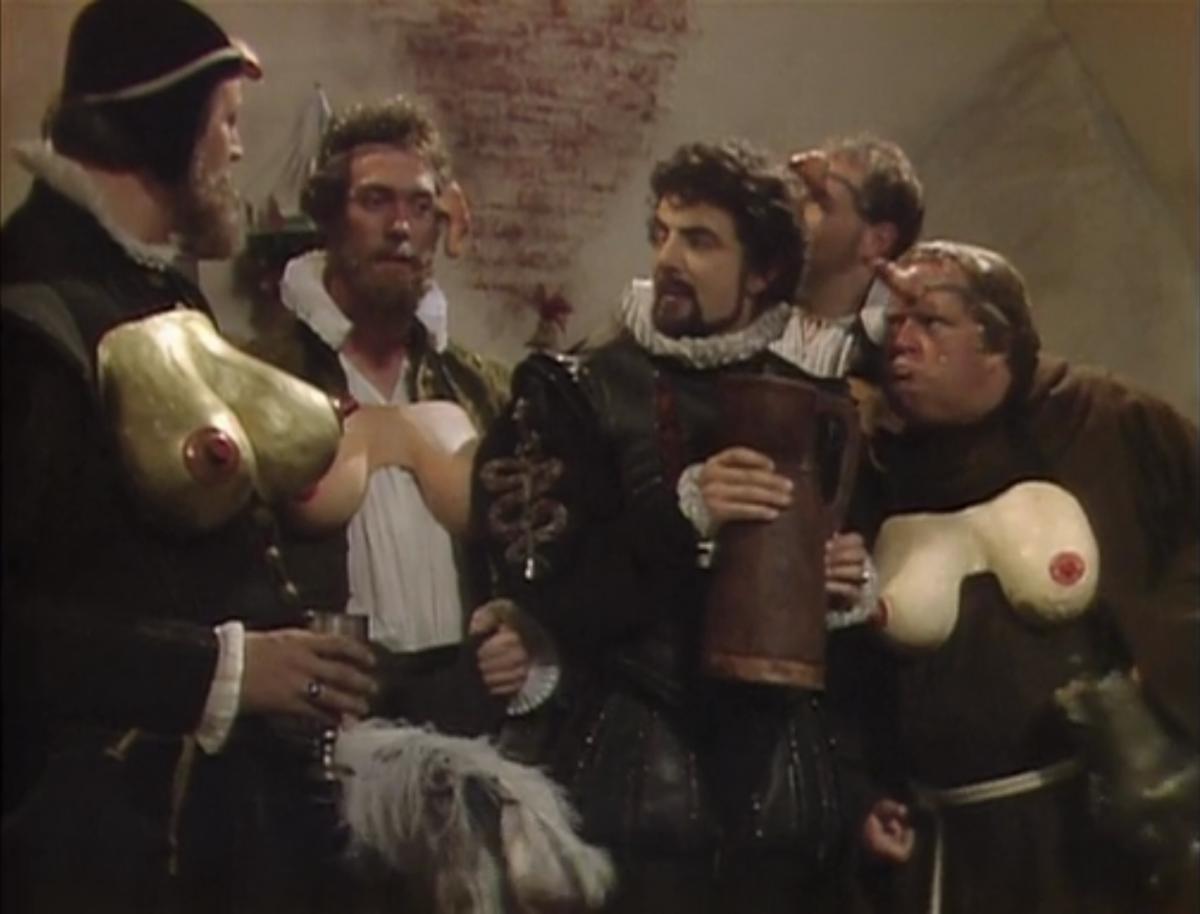 игра престолов черная гадюка blackadder отвратительные мужики disgusting men
