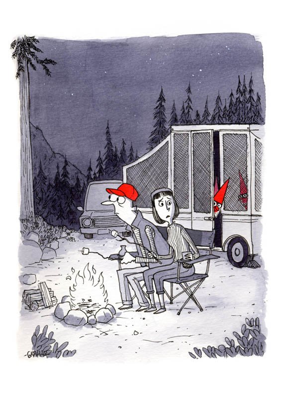 карикатуры карикатурист Грэм Эннебл Graham Annable арт отвратительные мужики disgusting men