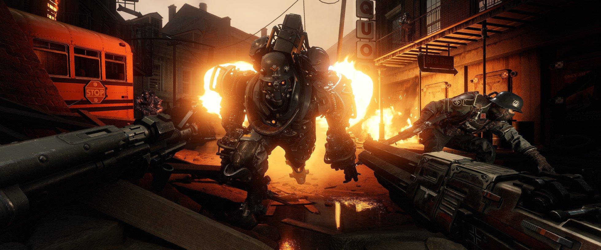 Wolfenstein 2: The New Colossus рецензия отвратительные мужики disgusting men