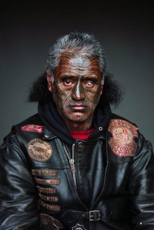 Татуированные лица и племенная иерархия — как выглядят байкеры Новой Зеландии