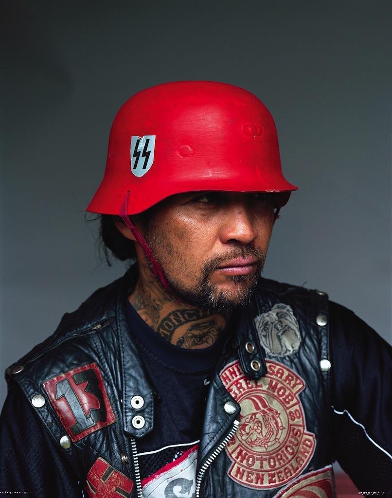 татуировки на лице новозеландские байкеры новой зеландии отвратительные мужики disgusting men