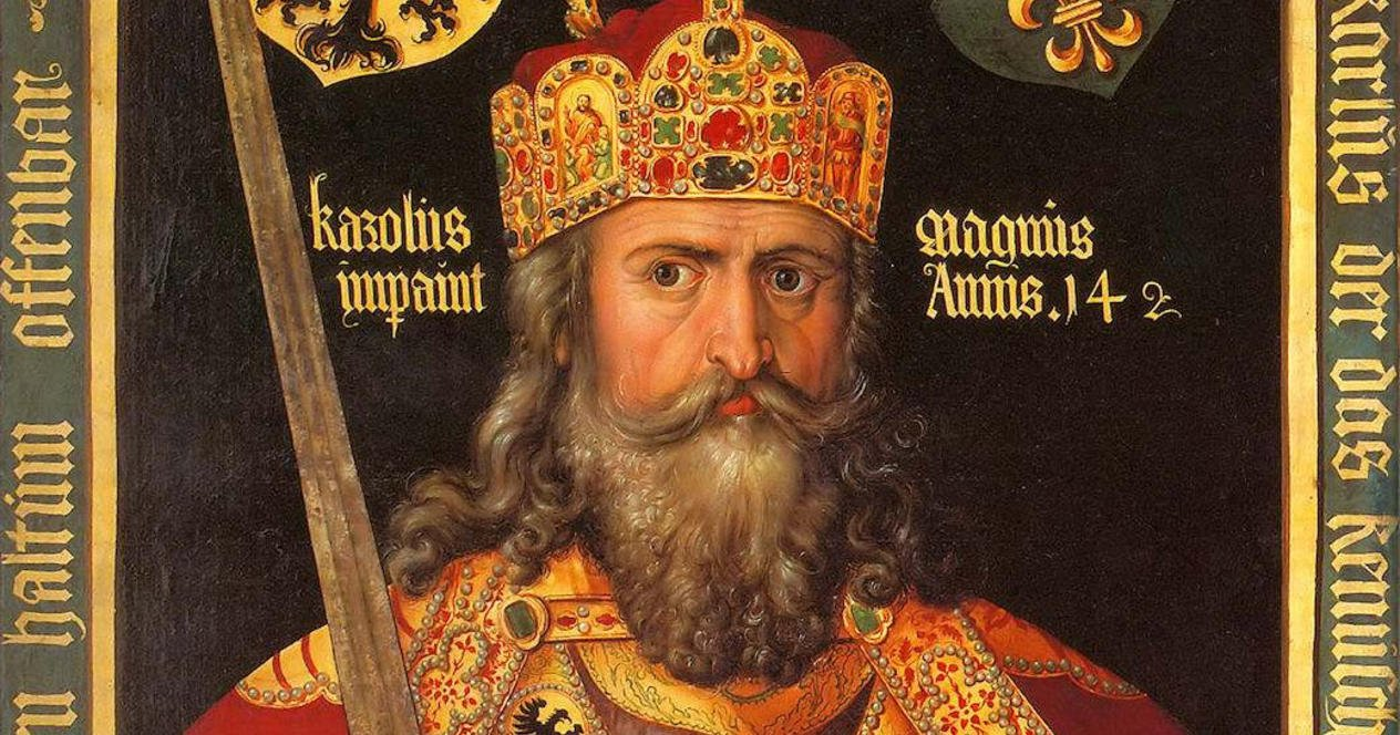a biography of charlemagne a ruler of the franks