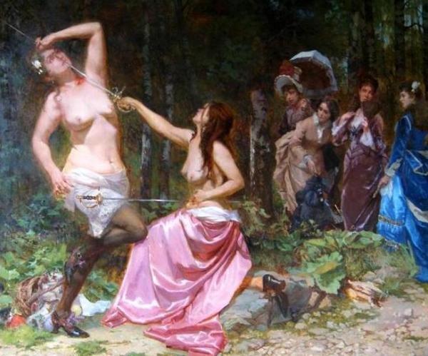 воительницы женщины-воины история отвратительные мужики disgusting men