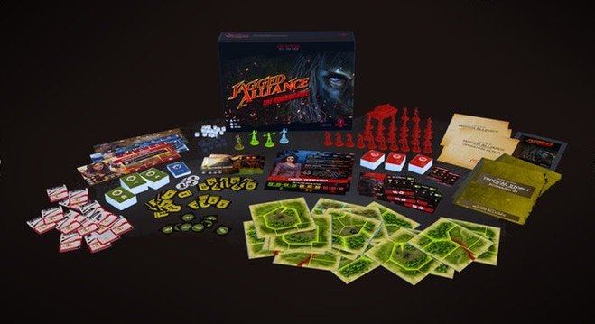 Jagged Alliance 2 Настольная игра Jagged Alliance