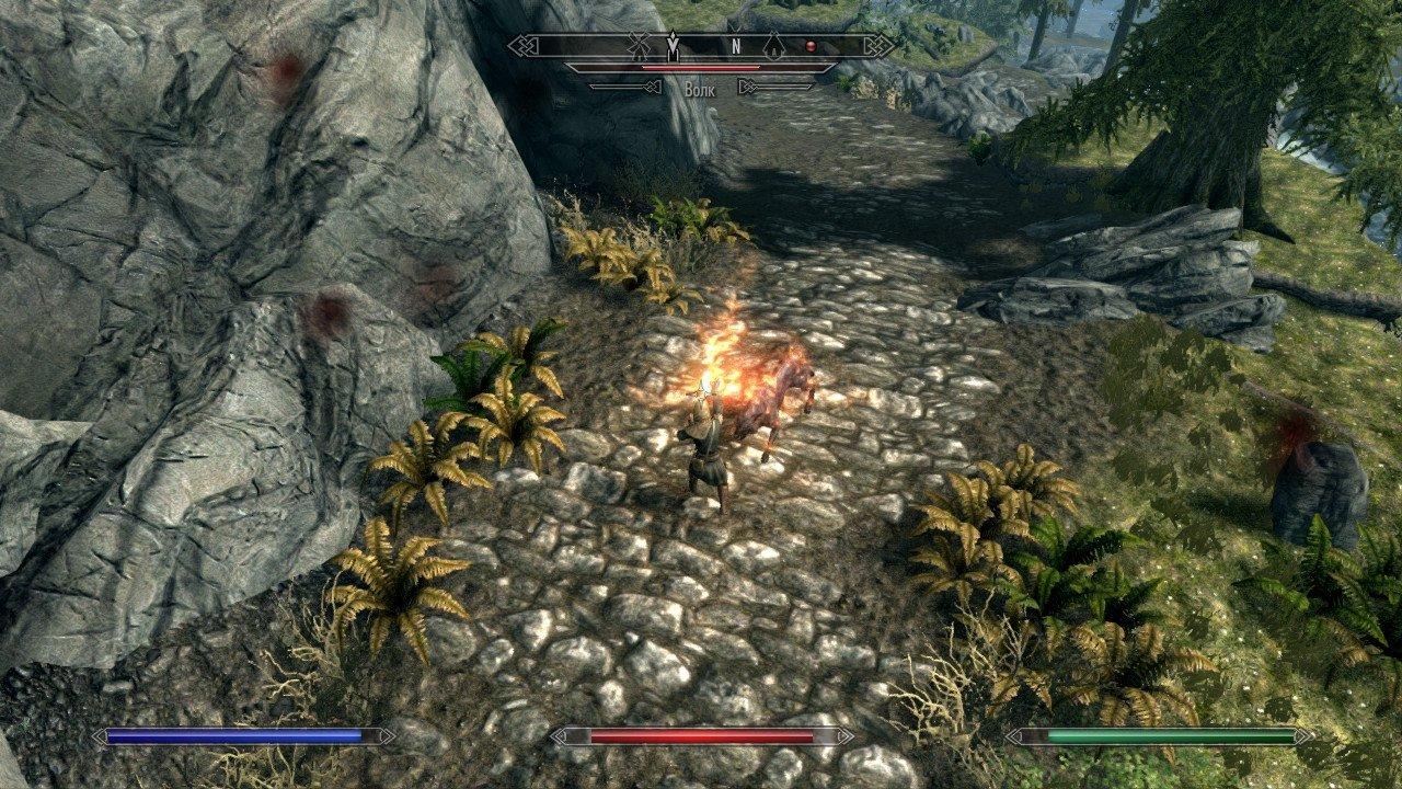 Скайрим — The Elder Scrolls 5 Skyrim — Nintendo Switch — Обзор — Отвратительные мужики