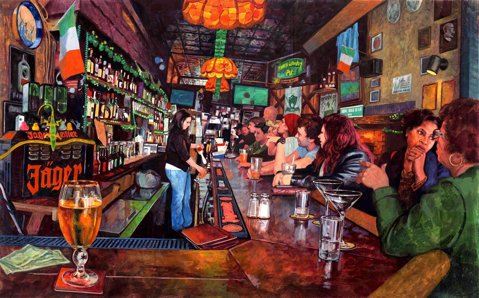 достоинства фото баров художники шикарный особняк тоже