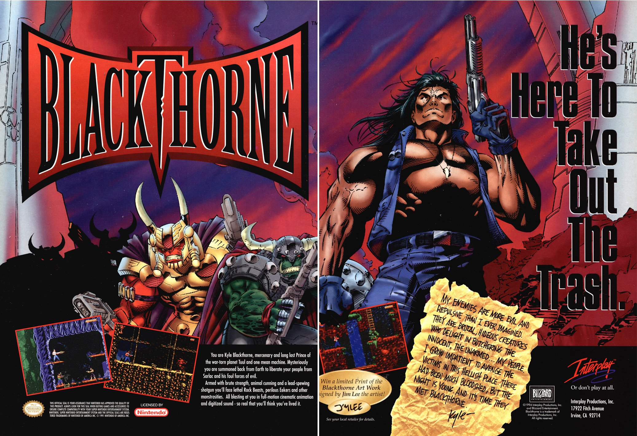 Blackthorne Nintendo Switch