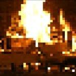 8 bit Christmas Fireplace steam отвратительные мужики disgusting men
