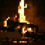 8 bit Christmas Fireplace steam отвратительные мужики disgusting men