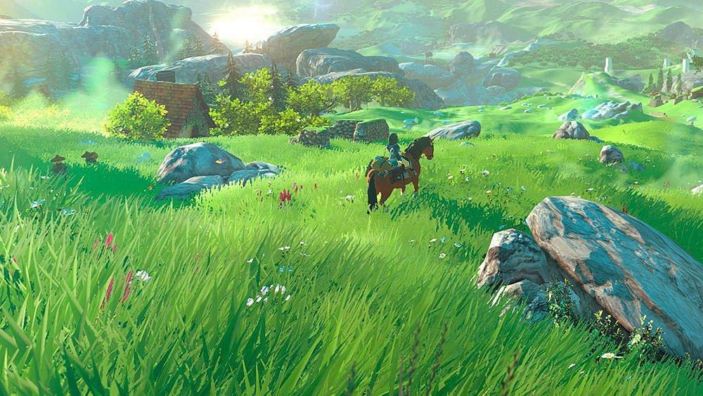 Zelda Breath of The Wild — Лучшие игры 2017 — Disgusting Men — Отвратительные мужики