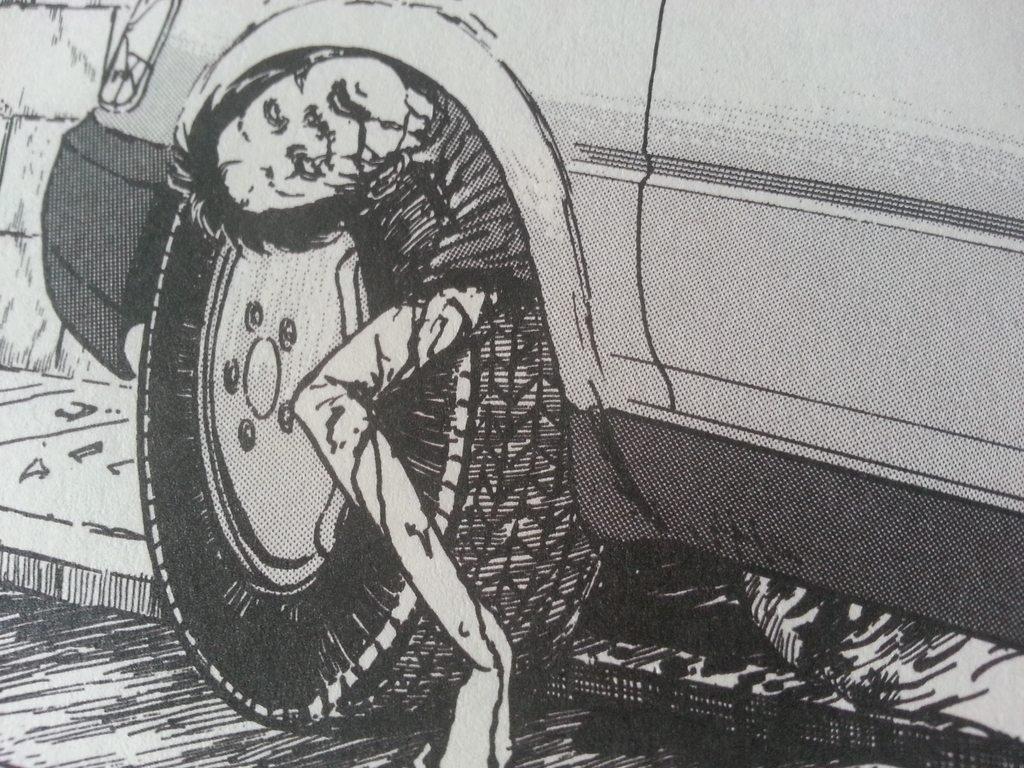 рисунки Дзюндзи Ито манга отвратительные мужики disgusting men