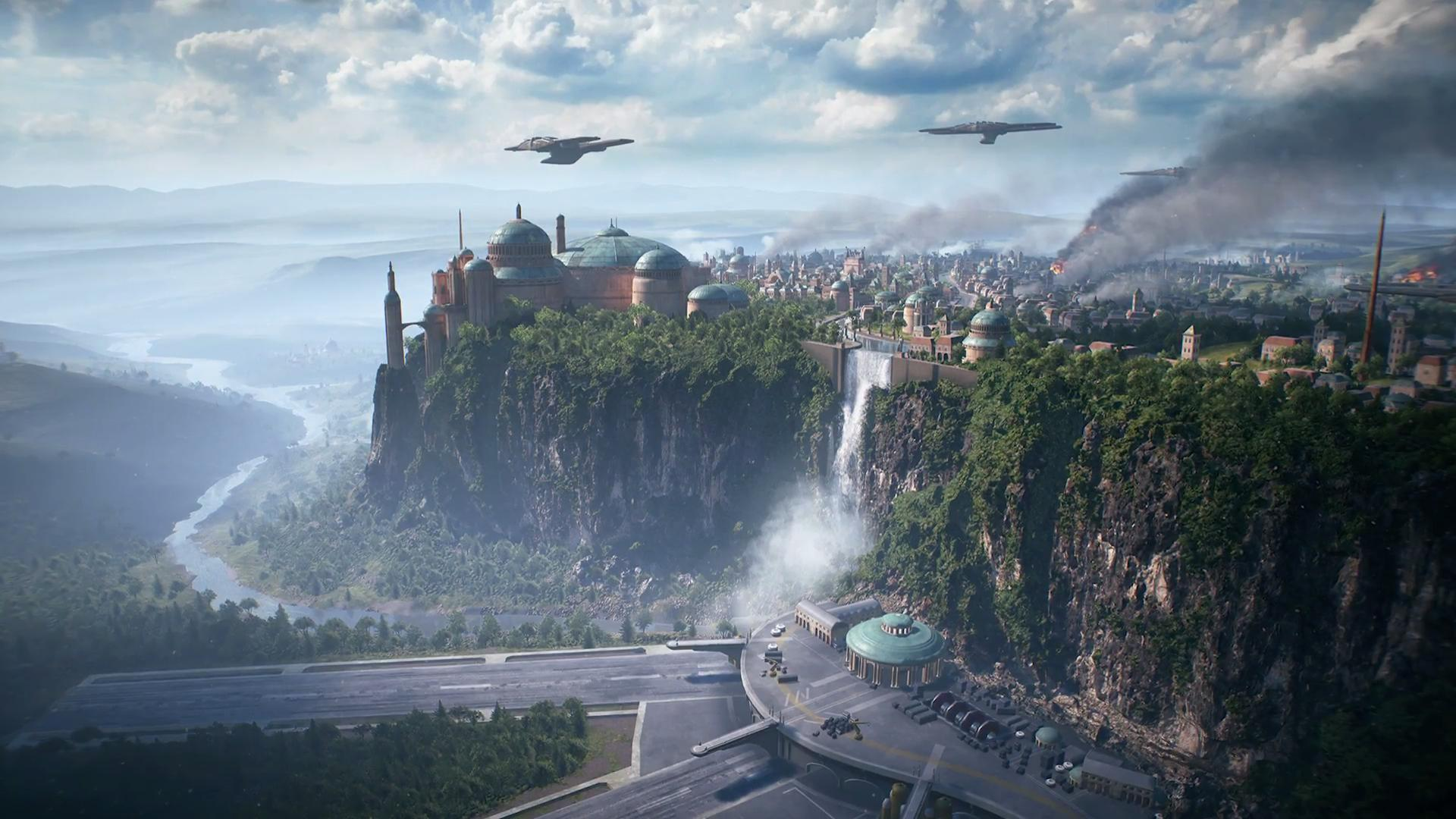 Звездные войны — Star Wars Battlefront 2 — Планеты — Planets