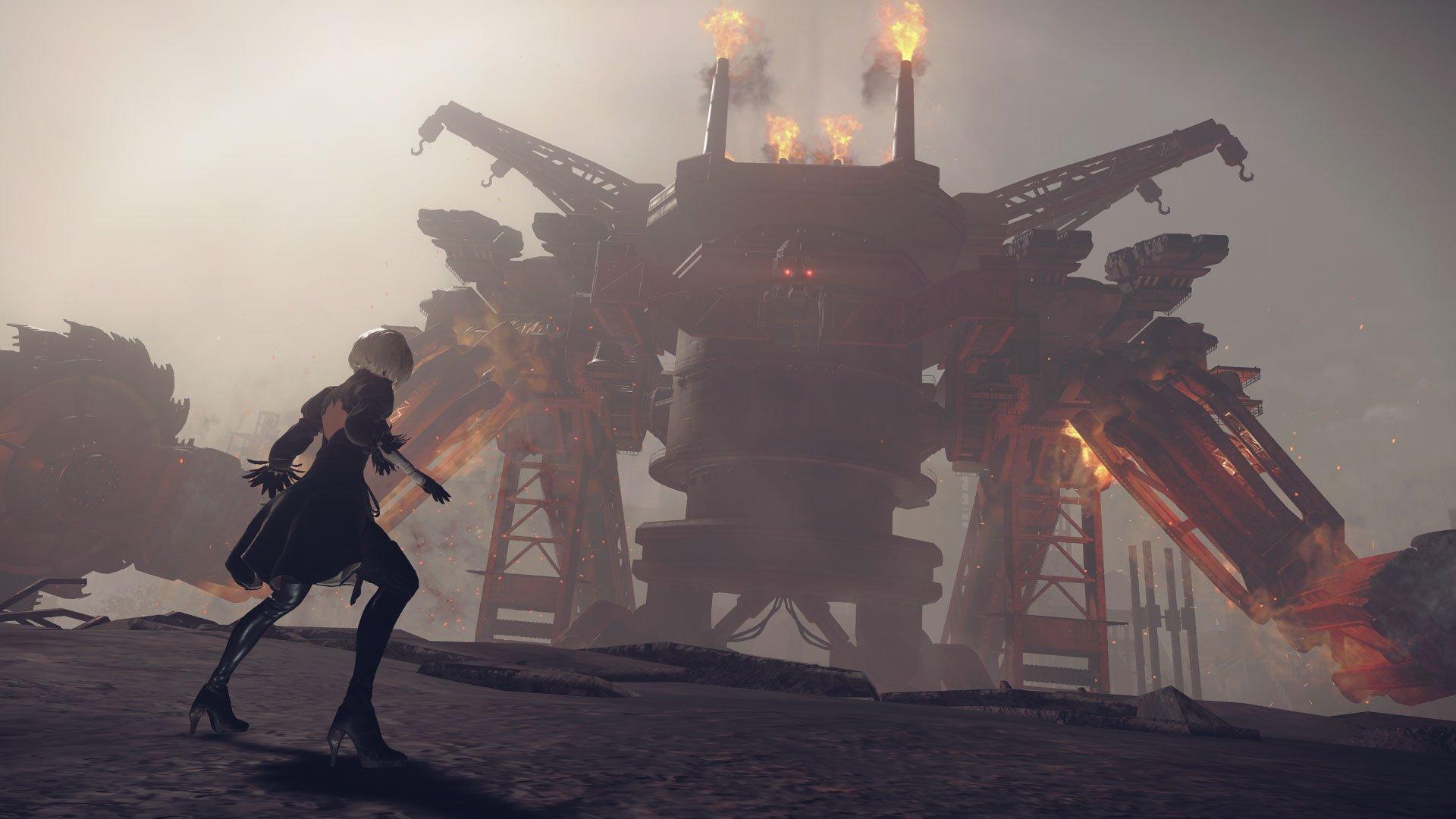 Лучшие игры 2017 года — Nier Automata — Отвратительные мужики Disgusting Men