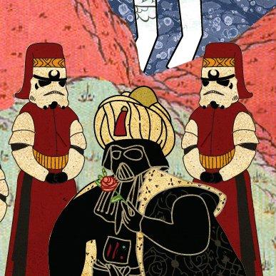 Classic Movies in Miniature Style классические фильмы в виде миниатюр отвратительные мужики disgusting men турецкие звездные войны
