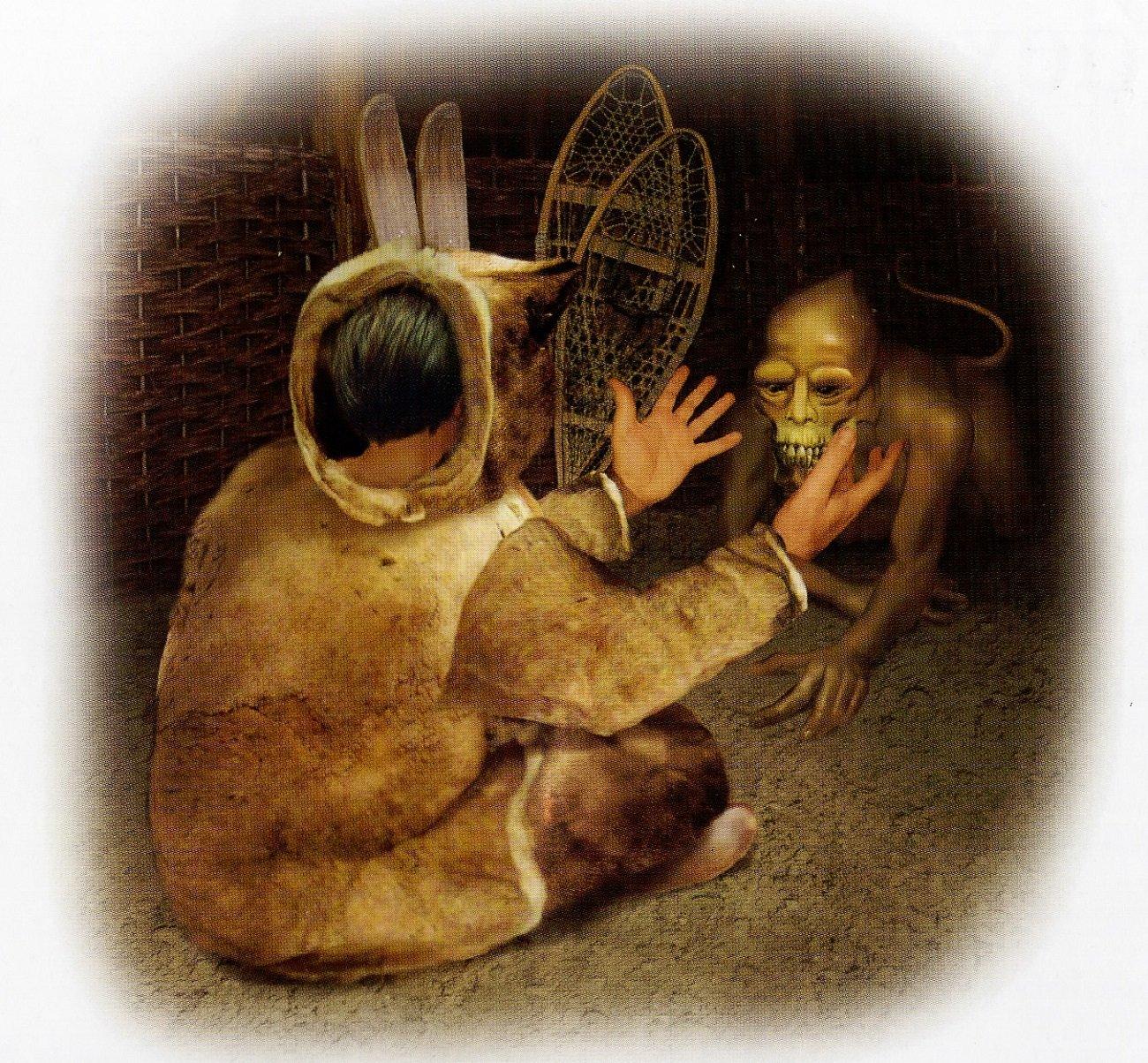 эскимосский монстр тупилак шаманизм эскимосов tupilaq tupilak отвратительные мужики disgusting men