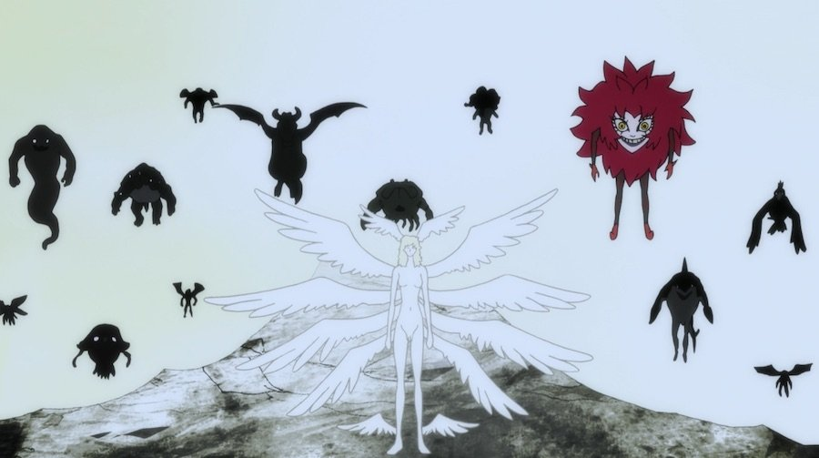 Человек Дьявол Плакса Devilman Crybaby Review Обзор