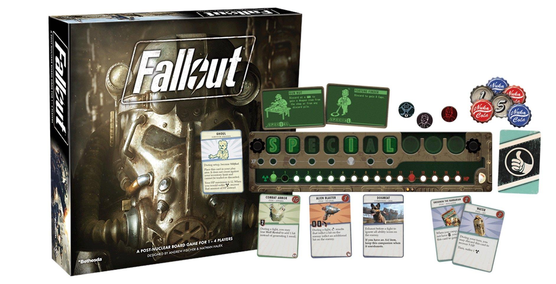 Fallout Board Game — Настольная игра Fallout — Настолка Fallout