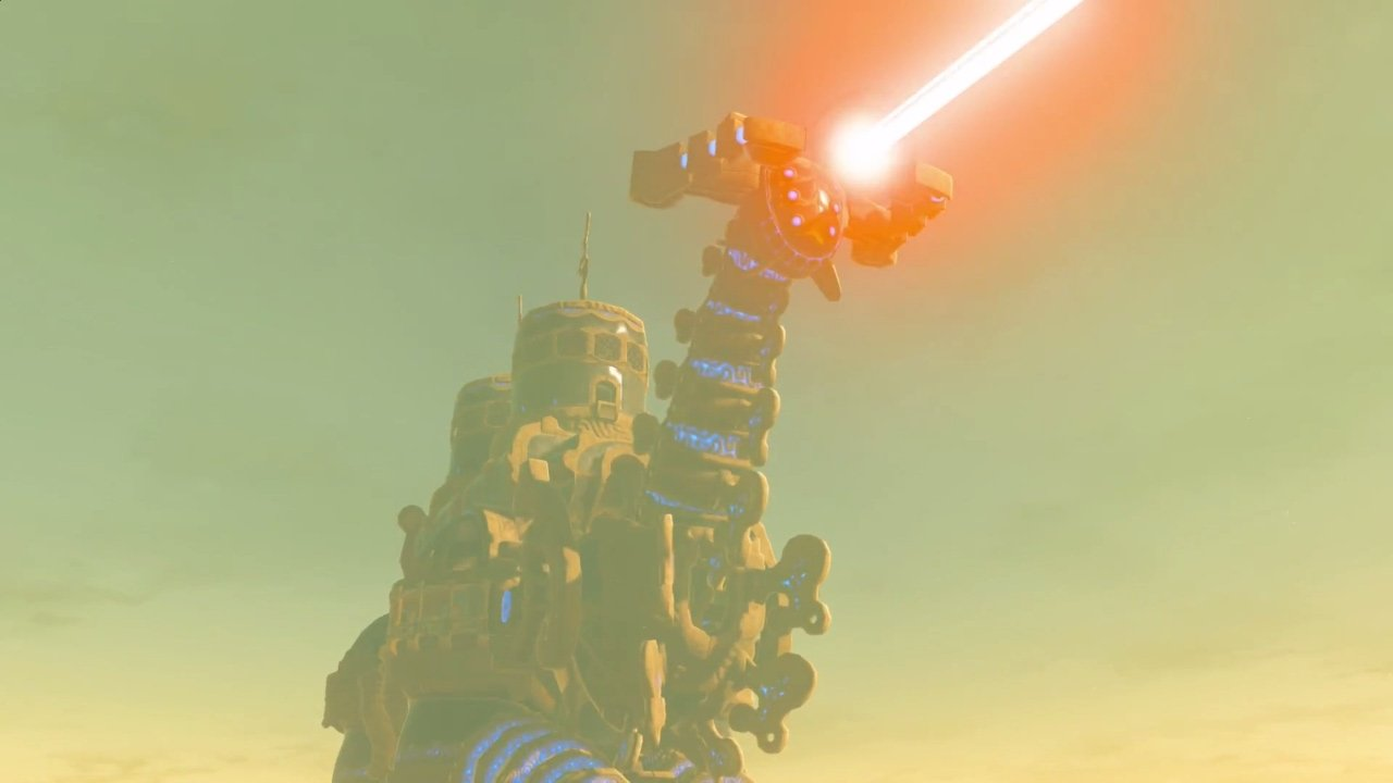 Zelda Breath of The Wild Vah Naboris Ва Наборис Зельда