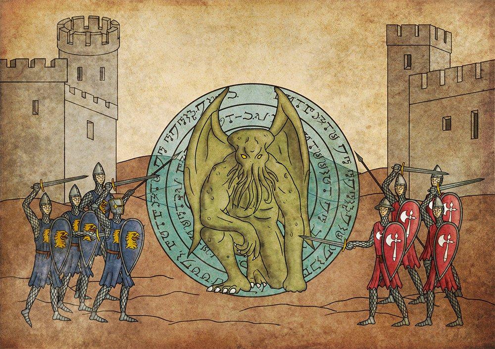 Robert Altbauer роберт альбатор средневековый лавкрафт в средневековье лавкрафт в средние века отвратительные мужики disgusting men