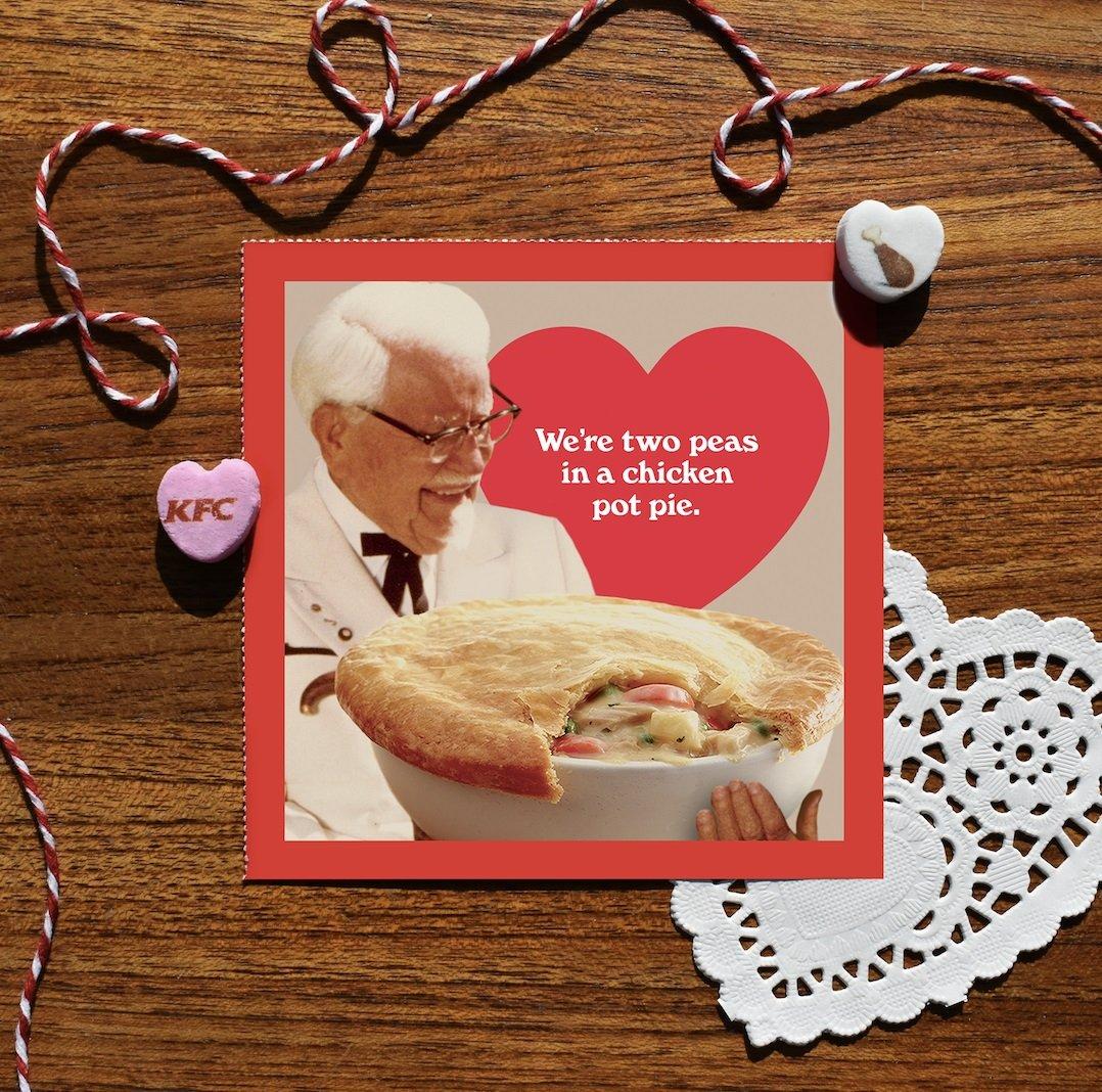 kfc день святого валентина валентинки подарки отвратительные мужики disgusting men