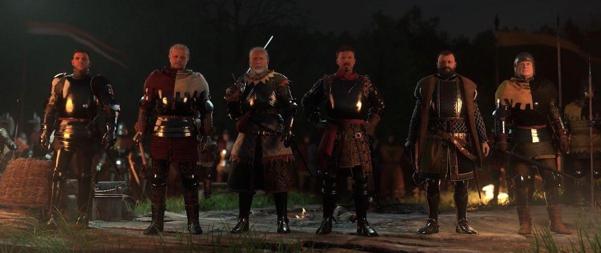 Kingdom Come: Deliverance отвратительные мужики disgusting men