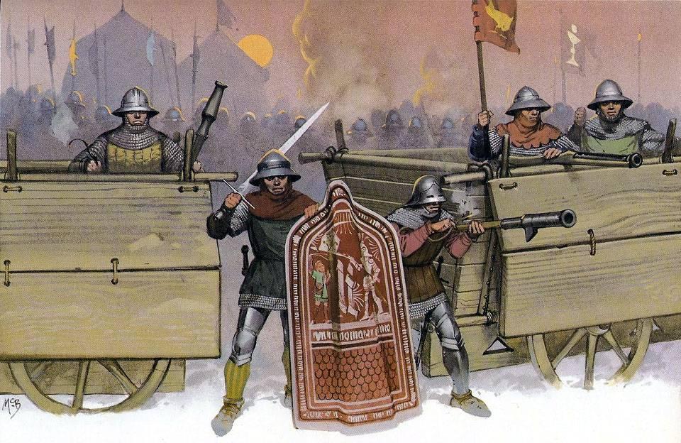гуситские войны тактика гуситов табориты и чашечники ян гус жижка отвратительные мужики disgusting men