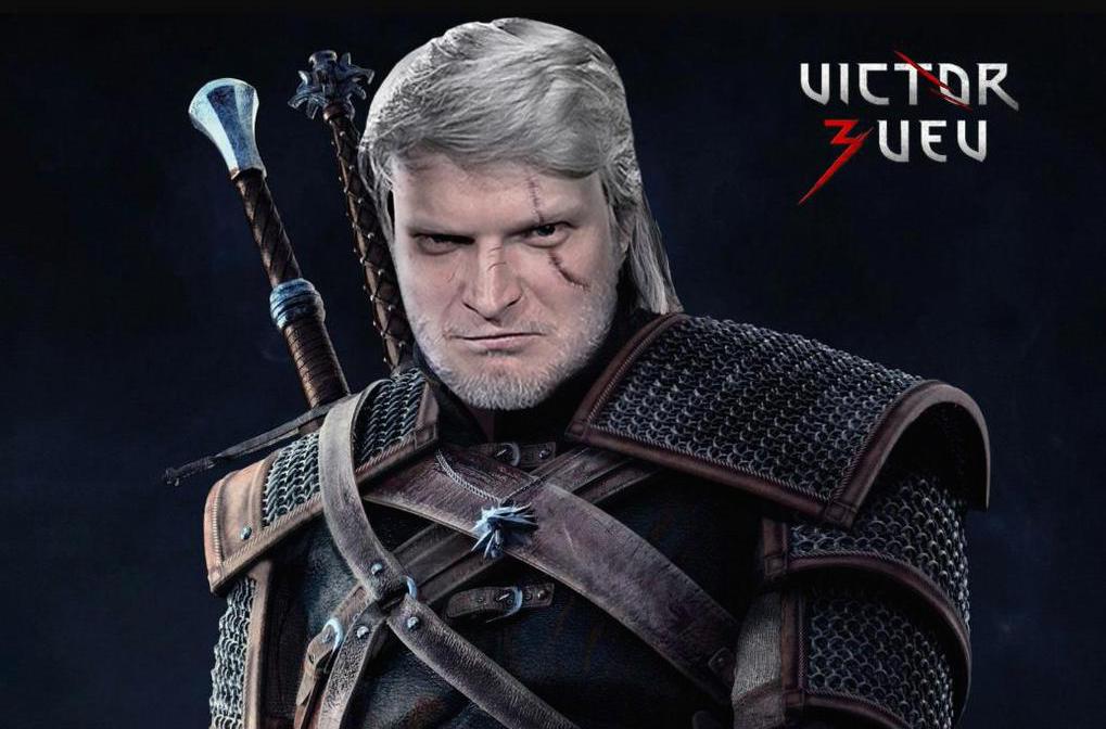 Виктор Зуев Ведьмак Геральт The Witcher