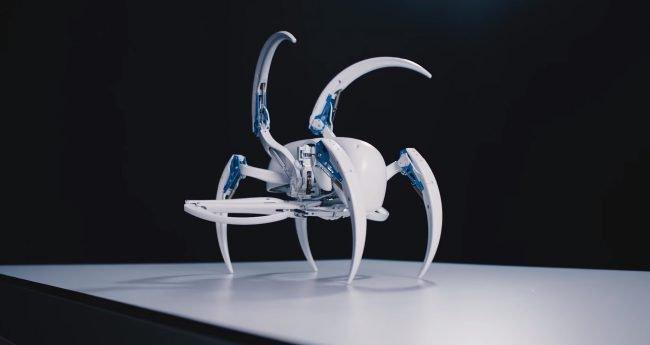 Bionic WheelBot робот-паук отвратительные мужики disgusting men