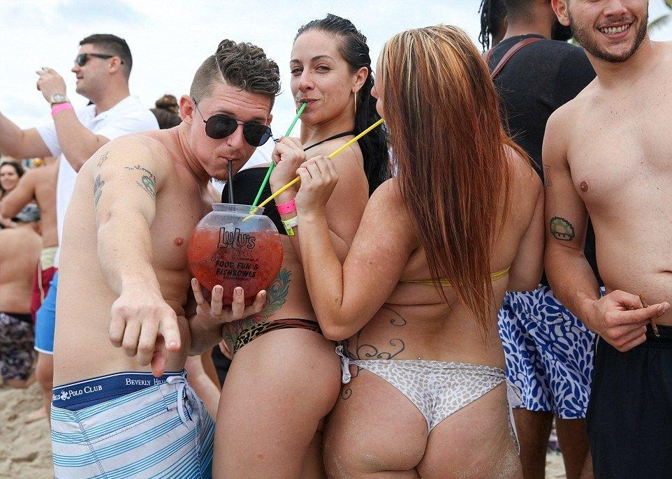 spring break весенние каникулы девушки фото отвратительные мужики disgusting men
