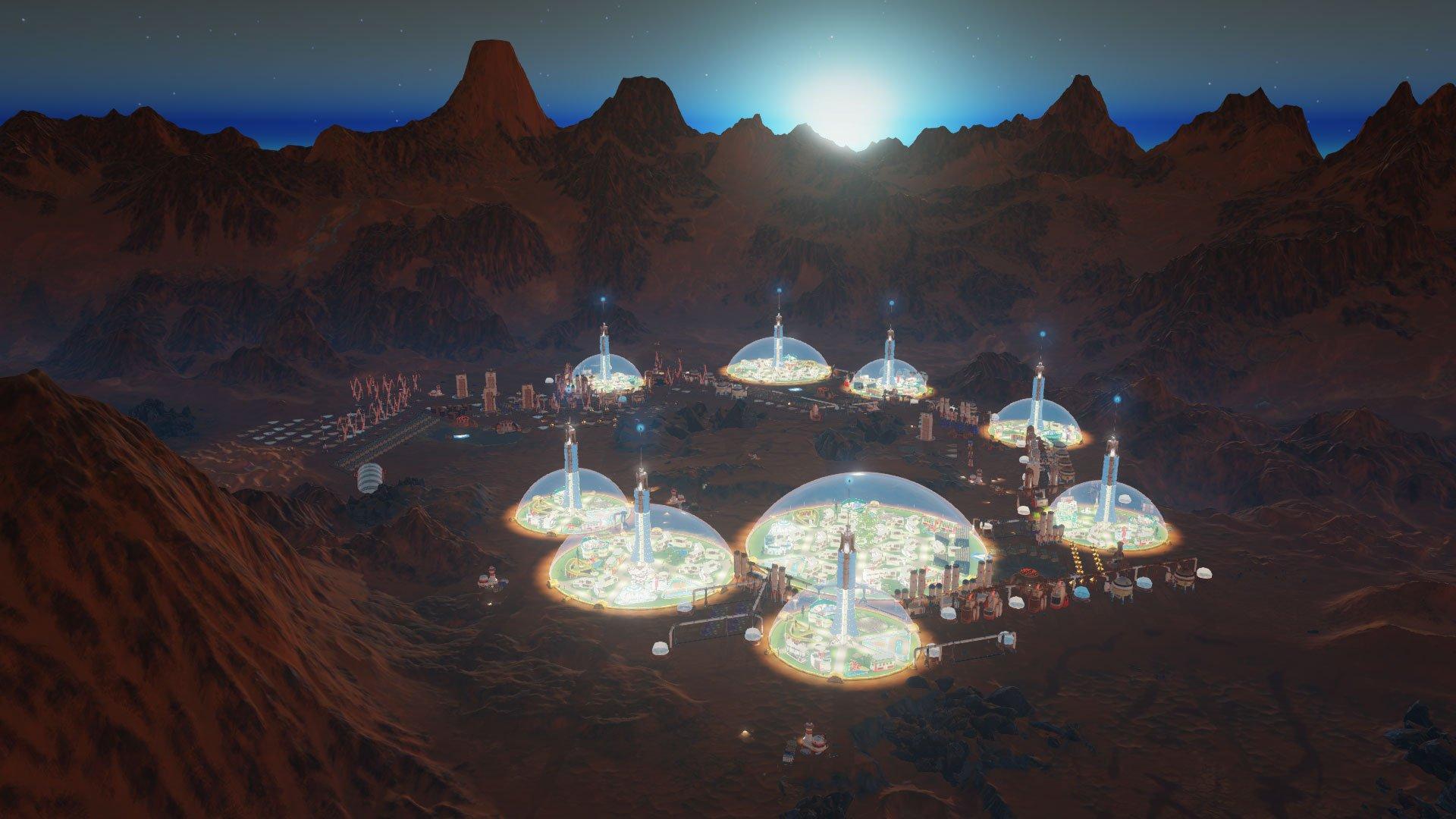 Surviving Mars Review Рецензия Обзор