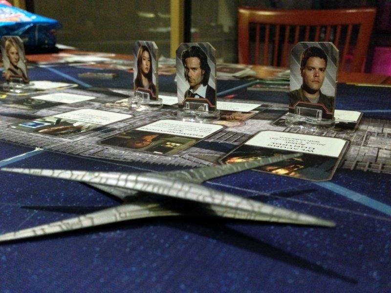 Battlestar Galactica Board Game Настольная игра Звездный крейсер Галактика