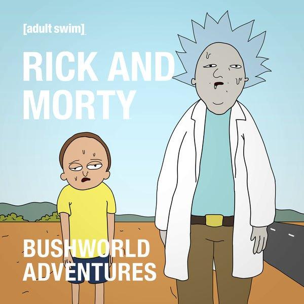 рик и морти 4 сезон bushworld трэш анимация отвратительные мужики disgusting men