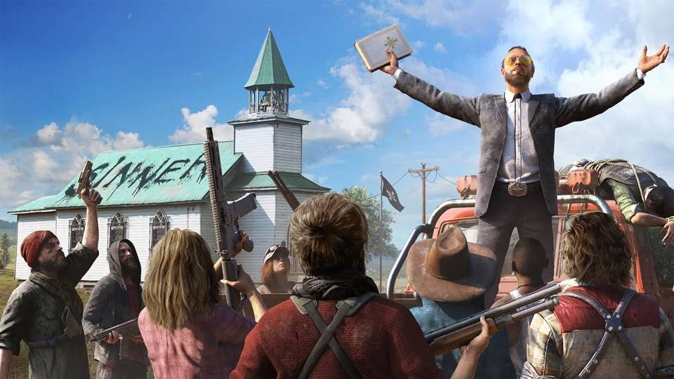Far Cry 5 Иосиф Сид Христианский символизм