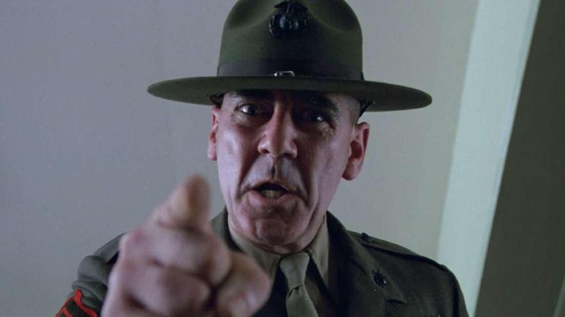 сержант хартман цельнометаллическая оболочка Р. Ли Эрми отвратительные мужики disgusting men