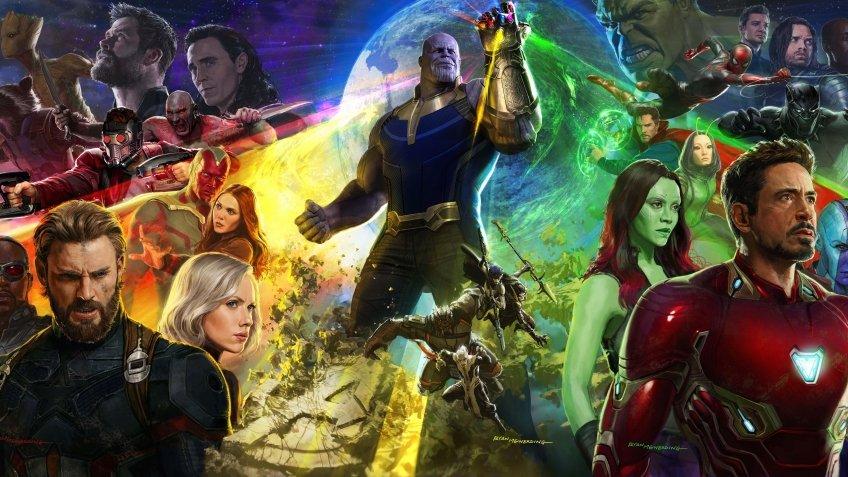 Мстители Война Бесконечности Обзор Рецензия Avengers Infinity War Review