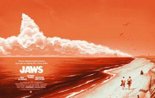Прекрасные, потрясающие, авангардные постеры фильма «Челюсти»