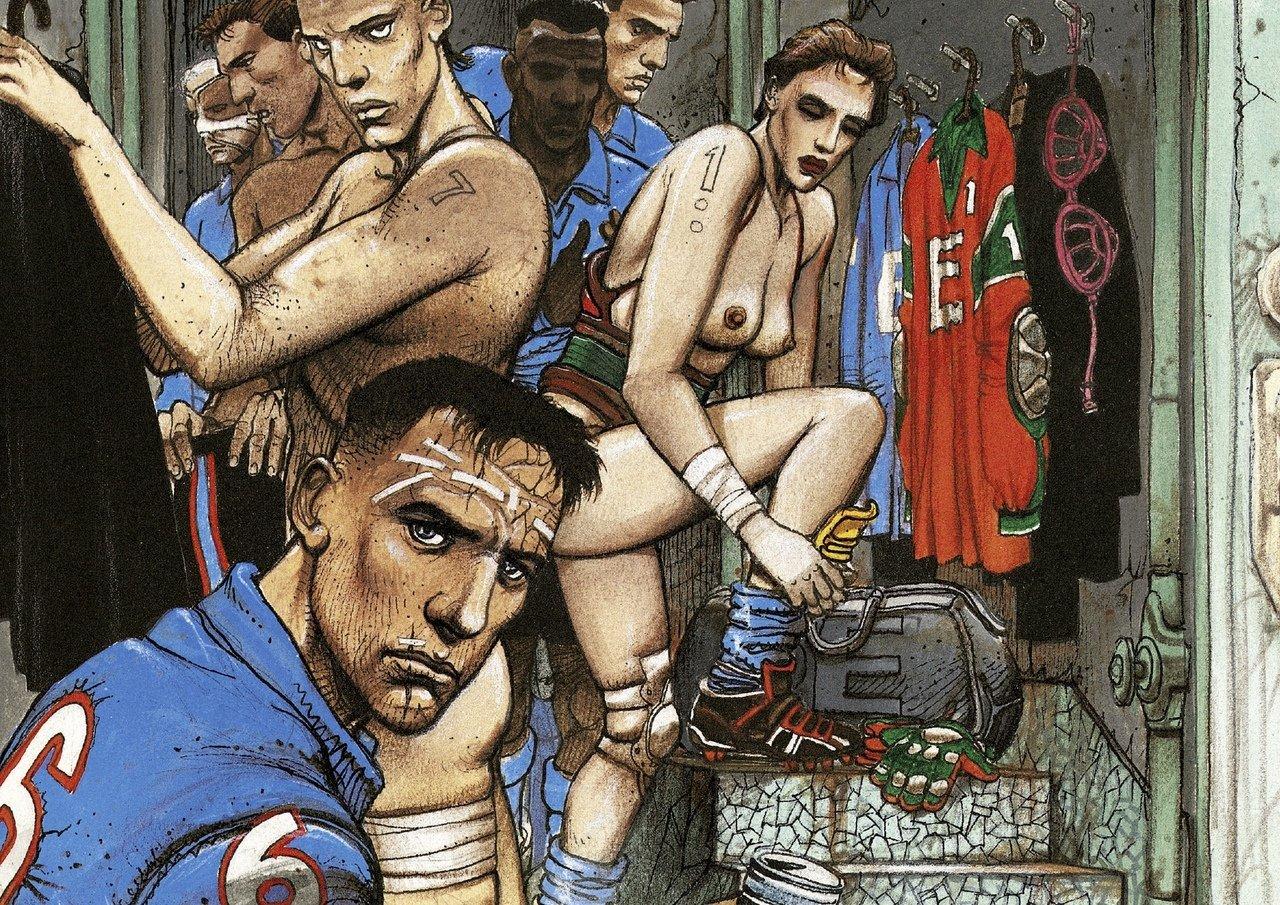 чтиво под пиво комиксы про футбол комиксы футбол отвратительные мужики disgusting men