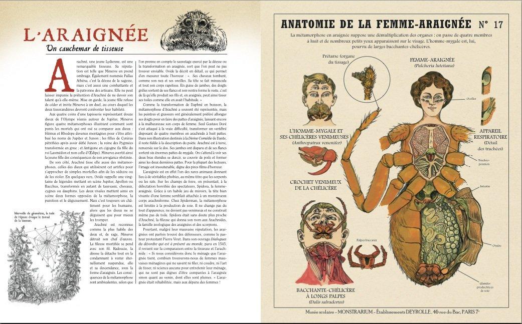Camille Renversade камиль ренверсейд химеры монстры арт занимательная криптозоология отвратительные мужики disgusting men